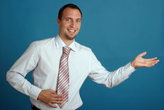 Young business man Stock Photos