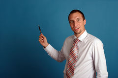 Young business man Royalty Free Stock Images
