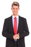 Young business man Stock Images