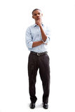 Young business man stock image