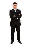 Young business man full body Royalty Free Stock Photography