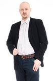 Man with hand in his pocket Stock Photo