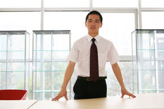 Young   business man in office Stock Photo