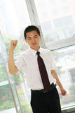 Young   business man in office Stock Image