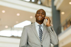 Young business man office Royalty Free Stock Photography
