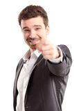Young business man pointing to the camera Royalty Free Stock Photo