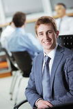 Young business man portrait Stock Photo