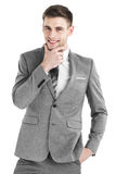Young business man portrait Royalty Free Stock Photo