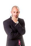 Young business man portrait Stock Image