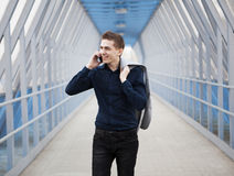 Young business man portrait Stock Images