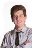 Young business man portrait Stock Photos