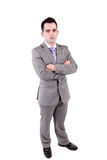 Young business man posing Royalty Free Stock Images