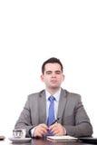Young business man posing Stock Photos