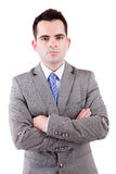 Young business man posing Royalty Free Stock Photography