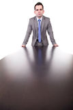 Young business man posing Royalty Free Stock Image