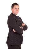 Young business man posing Royalty Free Stock Photo