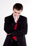 Young business man standing Royalty Free Stock Photography