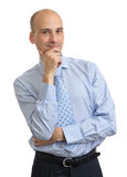 Young business man thinking Stock Photography