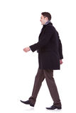 Young business man walking forward Stock Photo