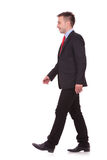 Young business man walking Royalty Free Stock Photography
