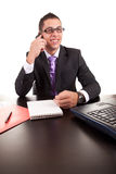 Young business man at work Stock Image