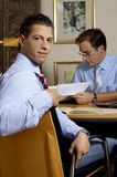 Young business men royalty free stock photo