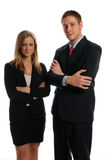 Young Business Partners Stock Photo