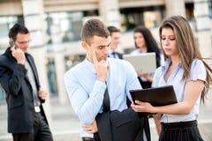 Young Business Partners Stock Photos