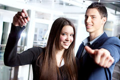 Young business partners Stock Image