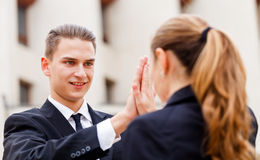 Young business people Royalty Free Stock Photography