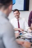 Young business people group on meeting at modern office Stock Photography
