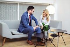 Business people Meeting In Modern Boardroom. royalty free stock image