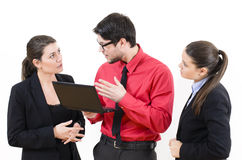 Young business people Royalty Free Stock Photo