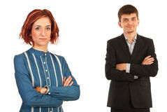 Young business people team Stock Image