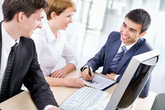 Young business people Stock Images