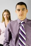 Young business staff Stock Photos