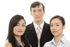 Young Business Team 1. A mixed group of young professional business people Royalty Free Stock Images