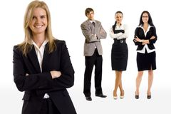 Young business team stock images