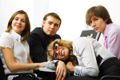 Young business team. Stock Image