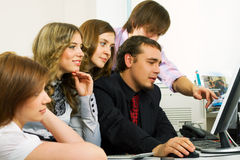 Young business team. Stock Photo