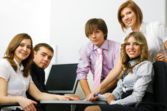 Young business team. Royalty Free Stock Photography