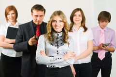 Young business team. Stock Photos