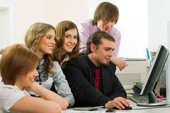 Young business team. Stock Images