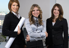 Young business team Stock Photography
