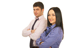 Young business team Royalty Free Stock Photography