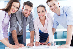 Young Business Team Royalty Free Stock Photos