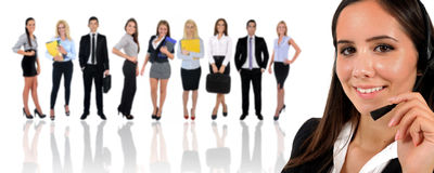 Young business team Stock Photo
