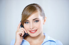 Young Business Woman Stock Image