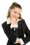 The young business woman Royalty Free Stock Photography