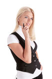 Young business-woman Royalty Free Stock Photo
